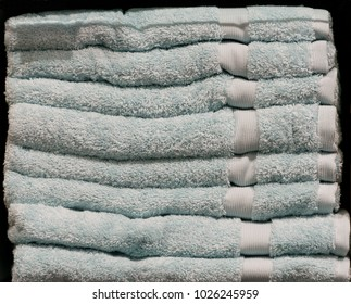 A bale of Pale Blue Towels