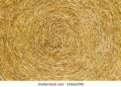 Bale of straw - texture
