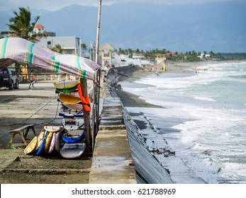 Baler area on Luzon, Philippines
