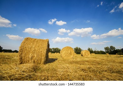 Bales of hay III