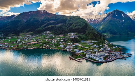Balestrand. The administrative centre of Balestrand Municipality in Sogn og Fjordane county, Norway.