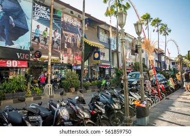 BALI - AUGUST 16: , Kuta's area on August 16, 2015 in Bali, Indonesia. Kuta is known internationally for its long sandy beach, many restaurants and bars