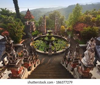 Bali budhist temple Banjar, Indonesia