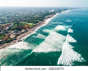 Bali coast near Canggu