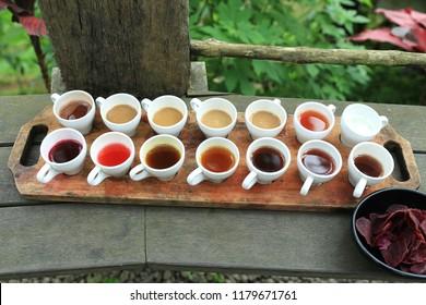 Bali coffee and tea