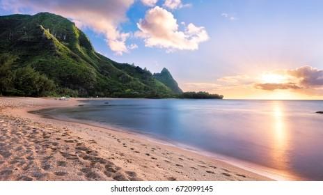 Bali Hai at Sunset, Kauai