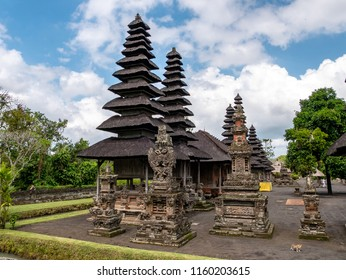 Bali, Indonesia - August 15, 2018: Photograph of the Hindu temple Pura Taman Ayun
