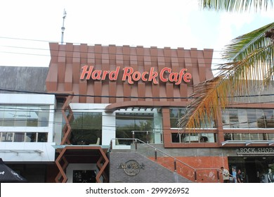 BALI, INDONESIA - JULY 13 2012: esternal view of Hard Rock Cafe in Bali, Indonesia