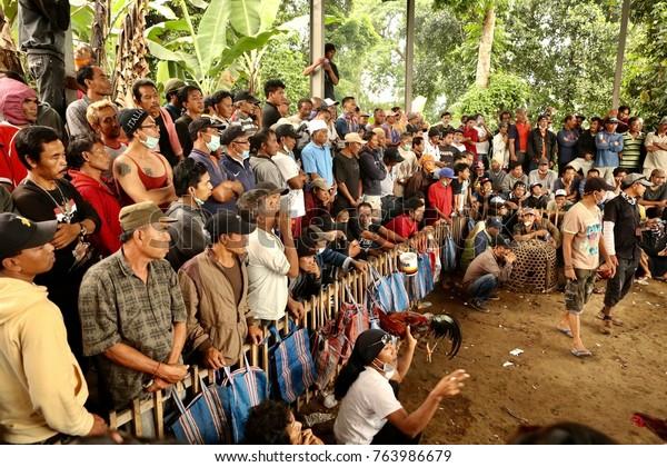 Bali Indonesia Nongan Village 27th November Stock Photo