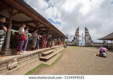 Bali Island Indonesia 22 July 2018 Stock Photo Edit Now 1154499025