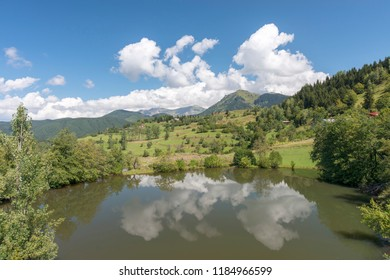 The Balik Golu ( Fish Lake) in Yukari Koyunlu village Savsat Artvin Turkey