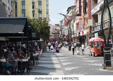 BALIKESIR, TURKEY - AUGUST 22, 2019: Balikesir City is popular destination for holiday in Turkey.