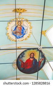 BALIKESIR,TURKEY - AUGUST 23, 2017 Ayvalik Taksiyarhis Church