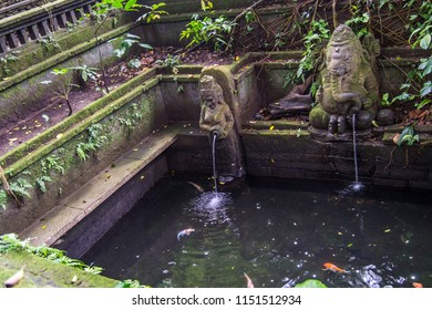 Balinese arquitecture temples and water