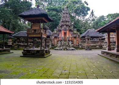 Balinese arquitecture in Ubud