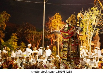 Balinese dance performance called telek dance. And it's mostly ended by barong and keris dance