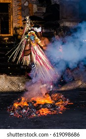 Balinese dancing in the fire