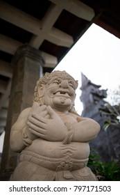 Balinese Hindu temple idols