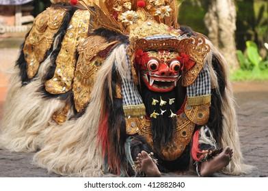 Balinese Lion Dance