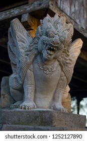 Balinese stone statue from Kintamani Highland temple