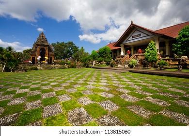 Balinese temple, Bali island, Indonesia