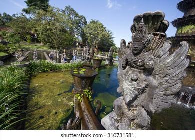 Balinese temple, Tirta Gangga temple, Bali island, Indonesia
