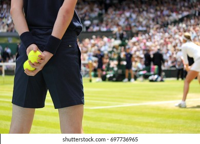 Ball boy tennis tournament