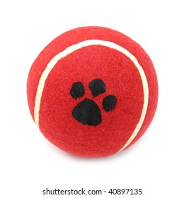Ball red tennis for pets dogs