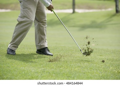 The ball rolled close to the hole as possible.