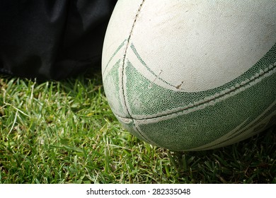 The ball for rugby