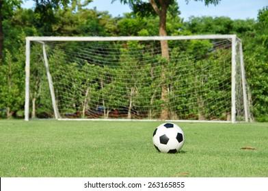 ball soccer field
