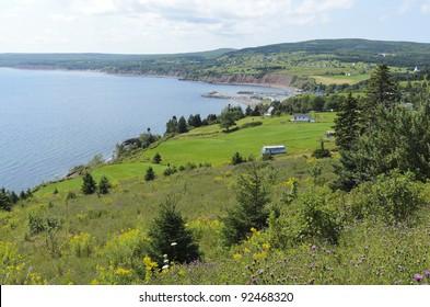 Ballantynes Cove in Antigonish County Nova Scotia Canada