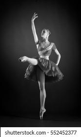 "Ballerina from the ballet ""La Bayadere"""