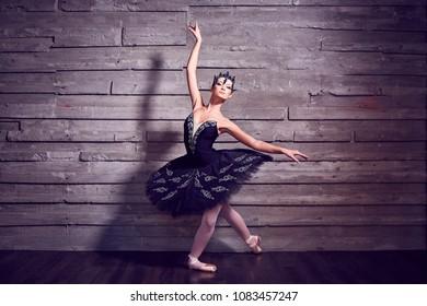 Ballerina in a beautiful costume
