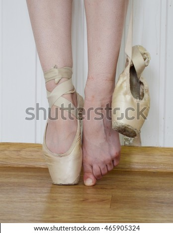 d8674a9f8 Ballerina Feet Ballet Shoes Pointe Other Stock Photo (Edit Now ...