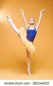 the ballerina in studio