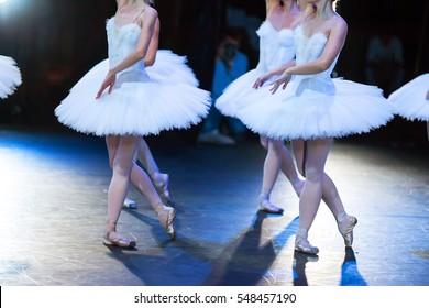 Ballerinas in the movement.