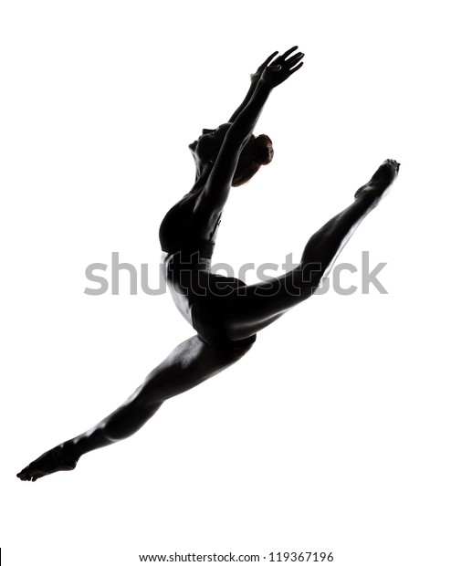 Ballet Dancer Black Body Paint Series Stock Photo Edit Now 119367196