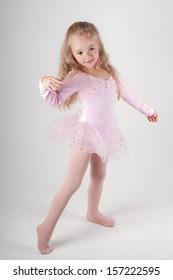 Ballet dancer doind ballet pas