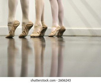 Ballet Dancer Feet - Soft and elegant