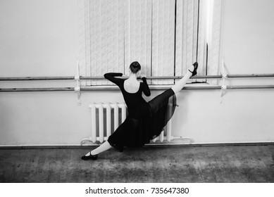 Ballet Dancer Training School Concept
