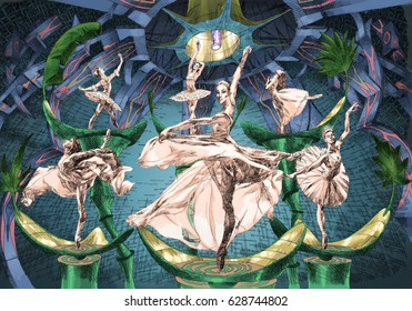 ballet in the dome