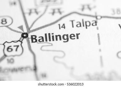 Ballinger. Texas. USA