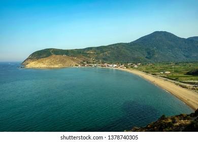 Ballipinar Village beach is a very famous touristic place in Erdek, Balikesir, TURKEY