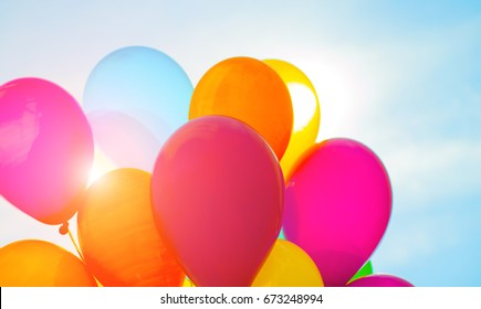 Ballons birthday