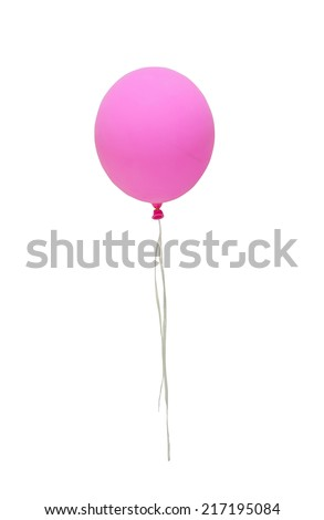 Balloon Decorations Festivals Party Birthdays Christmas Stock Photo
