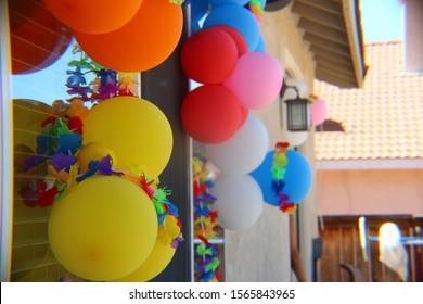 Hawaiian Birthday Party Stock Photos Images Photography