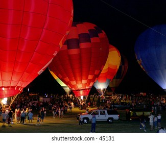 Balloon Festival - Night Burn