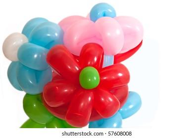 balloon flowers bouquet