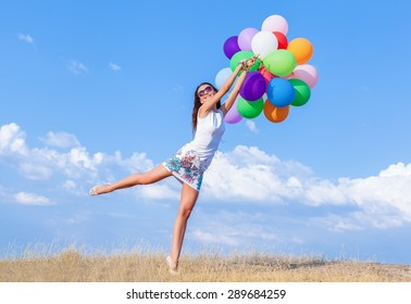 Balloon, Hot Air Balloon, Jumping.